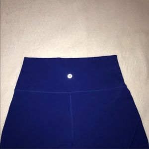 Royal Blue Lululemon Leggings